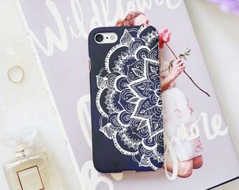 Henna Design iPhone 7 Case iPhone 7 Plus Case iPhone 6 6s Case iPhone 6 Plus 6s Plus iPhone 8 SE  Samsung Galaxy S9 S7 S8 case iphone x case