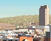Sheffield Skyline Panoram...