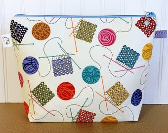 Knitting Project Bag - Medium / Shawl Size