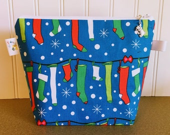 Christmas Stocking Project Bag - Small / Sock Size