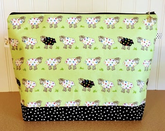 Large Sheep Knitting Bag
