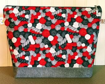 Yarn Ball Knitting Project Bag - Large / Sweater Size
