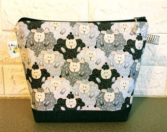 Sheep Project Bag - Small / Sock Size
