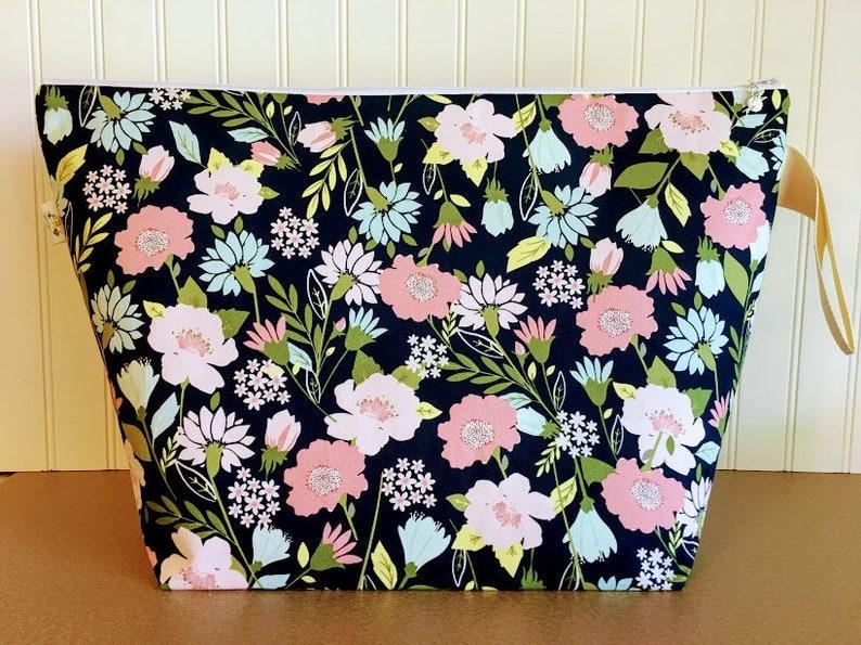 Large Project Bag Knitting project Bag Knitting Bag image 0