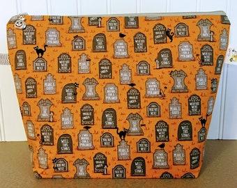 Gravestones Knitting Project Bag - Medium / Shawl Size