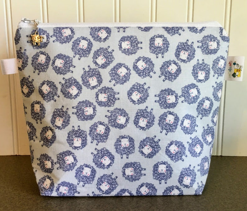 Knitting Project Bag Sock Project Bag Notion Holder Yarn image 0