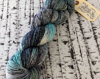Destash Yarn, Hand dyed Sock Yarn, Yarn Destash, Wool Sock Yarn, Fingering Weight Yarn, Mothy and the Squid