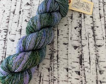 Destash Yarn, Hand dyed Sock Yarn, Yarn Destash, Wool Sock Yarn, Fingering Weight Yarn, Variegated Sock yarn,Sock Yarn, Mothy and the Squid
