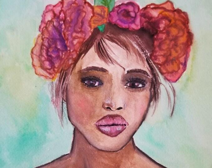 Fashion art, Fashion illustration, summer illustration, office wall art, modern wall art, fashion wall art, fashion art print