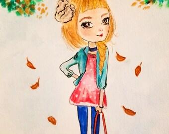 artwork for kids, Fashion painting, fashion illustration , fashion wall art, fashion print, fashion poster, fashion sketch, fashion art