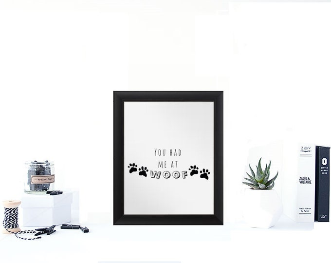 Dog Sign, Dog Quote, Pet Sign, dog quote sign, Canvas Quote, Pet Owner Gift, Dog Wall Art, Above Couch sign, Dog Sign, Farmhouse