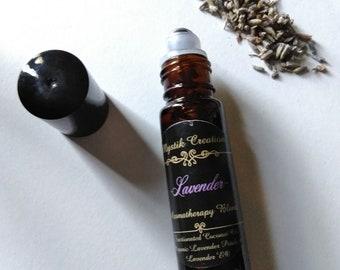 Lavender/ aromatherapy blend/ stress/calm/sleep