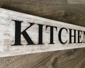 Ordinaire Kitchen Signs Wood/ Kitchen Signs Farmhouse/ Farmhouse Kitchen Signs/ Kitchen  Signs Decor/ Kitchen Signs Rustic