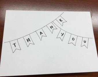 Custom Thank You Note/Set of 10