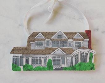 Custom House Ornament