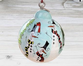 Snowman Ornament - SN_19-0325