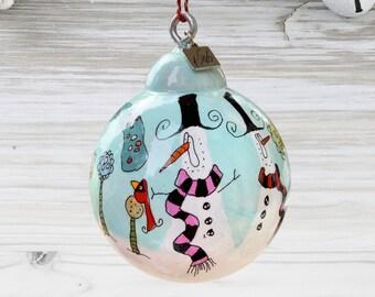 Snowman Ornament - SN_19-0315