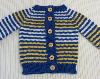 2e0fca913c49 Knit baby sweater