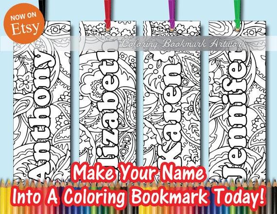 32 nombre personalizado para colorear marcadores con cinta / | Etsy