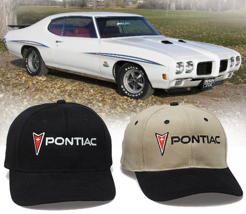 Pontiac Hat - HH #009 GTO Judge Firebird Trans Am Grand Prix Bonneville  Catalina Tempest Lemans Ventura Safari Fiero G5 G6 G8