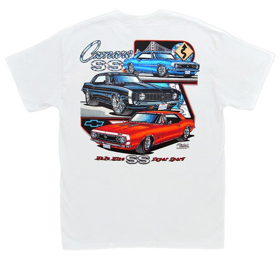 67 68 69 70 Camaro Tshirt 1967 1968 1969 1970 Chevy Tee Muscle Car T Shirt Z28
