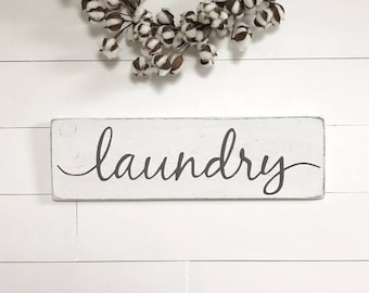 """Laundry sign 