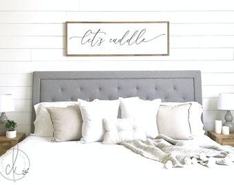 Bedroom sign where you go I will go master bedroom decor | Etsy