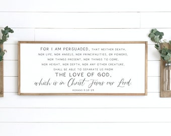 Scripture Wood Sign Etsy