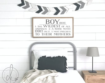 Boyu0027s Room Sign | Boy Definition Sign | Boys Bedroom Sign | Boy Room Wall  Decor | Kids Room Sign | Boy Sign