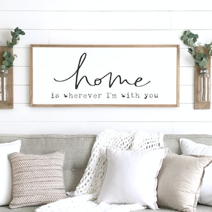 Family Name Sign Our Nest Sign Personalized Family Sign Etsy