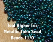 Teal Higher Iris Metallic...
