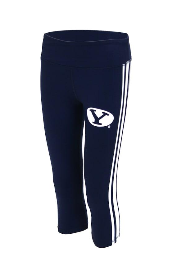Twin Vision Activewear Houston Cougars NCAA Womens Yoga Capri Pant Leggings