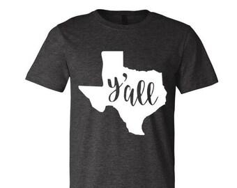 Y'all Texas Tee