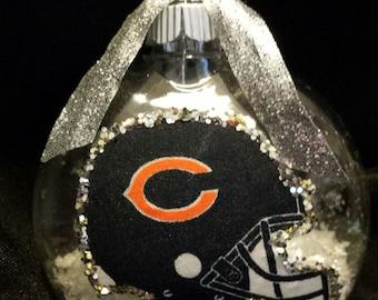 Chicago Bears Christmas Ornament