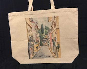 Streets of Rome Tote Bag