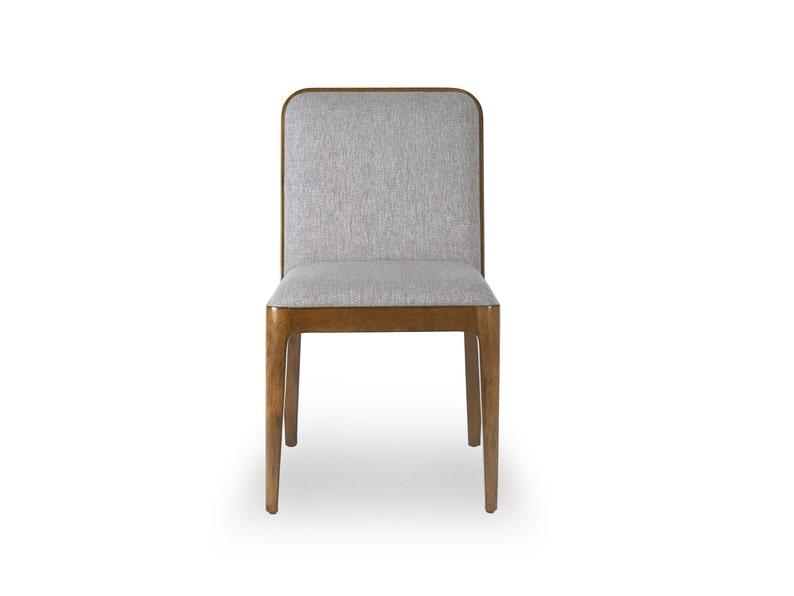 Walnut Dining Chair Ekais - Bella Collection Walnut Mid Century Dining Chair Walnut Upholstered Chair