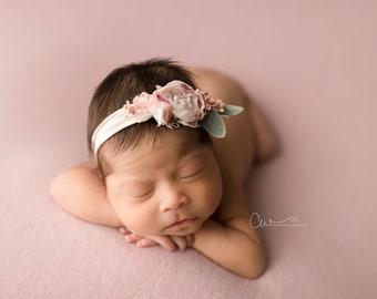 Cashmere Cozy Backdrop,  Pink Lilac Backdrop, Newborn Photo Prop, Newborn Posing Fabric, Newborn Photography Fabric Backdrop