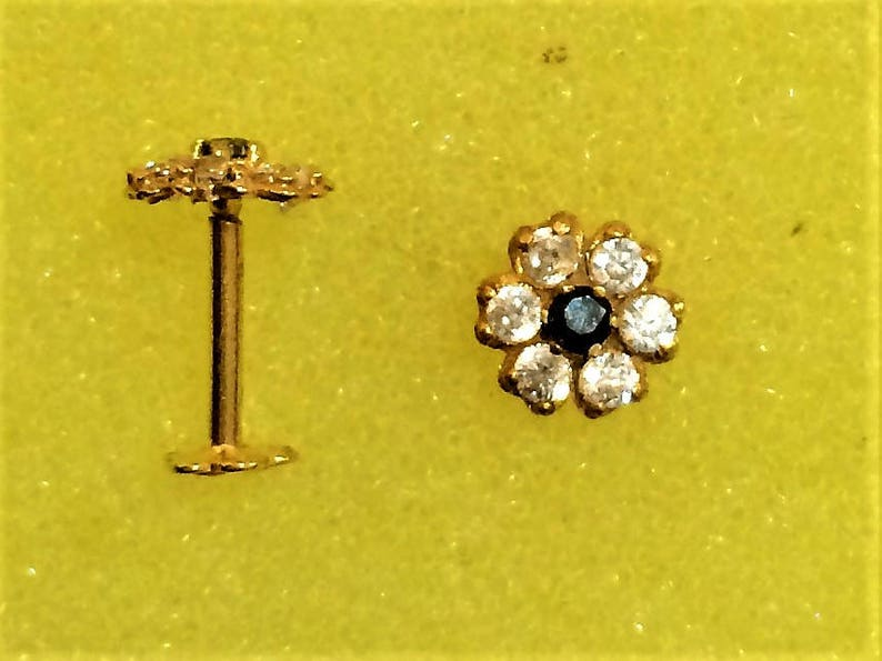 Nose Stud in Pure 21carat Hallmarked Yellow Gold