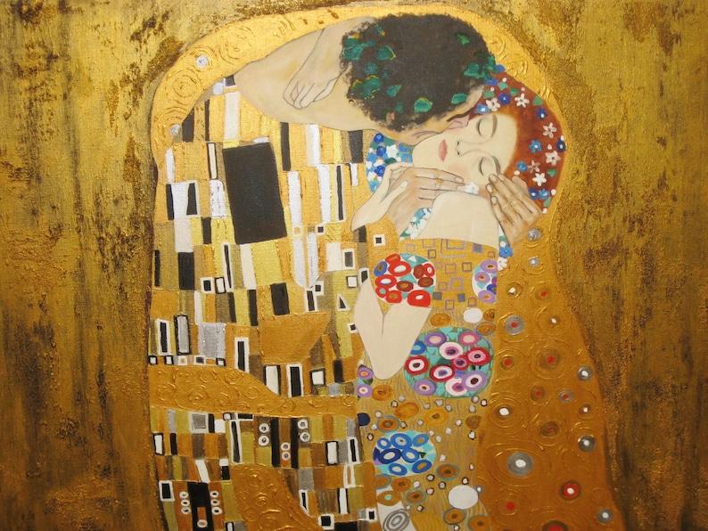 kiss klimt painting