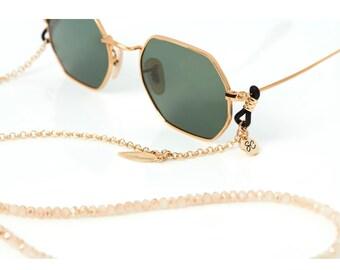 1561345b330 Beaded glasses chain