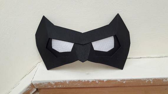 Robin / Nightwing Cosplay Eye Mask / Domino Mask Foam Template | Etsy