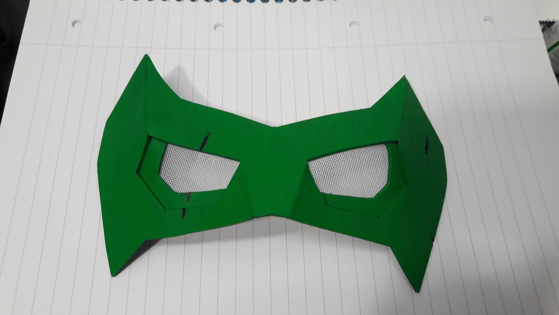 Robin / Nightwing Cosplay Eye Mask / Domino Mask Foam Template from ...