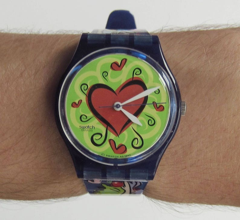 Love Swatch Gn176pack Bite Watch Mint ConditionEtsy Special 8OZwPkNXn0