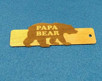 Papa Bear - Bookmark