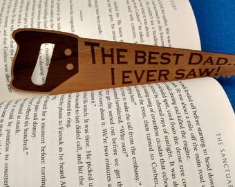 Best Dad You Ever Saw - Bookmark