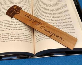 Happy Camper - Bookmark
