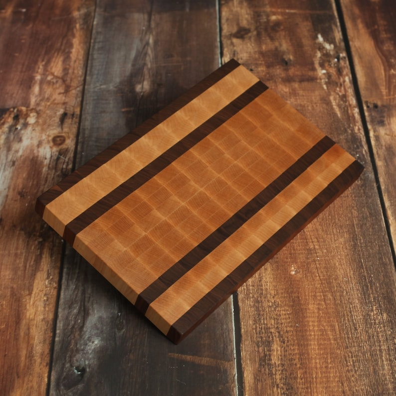 End Grain Multi Wood Cutting Board