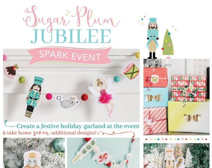 Kimberbell - Sugar Plum Jubilee-Virtual Event -Oct 25, 2021-Machine Embroidery - 1/2 Day Virtual Event - Class from the Comfort of your HOME