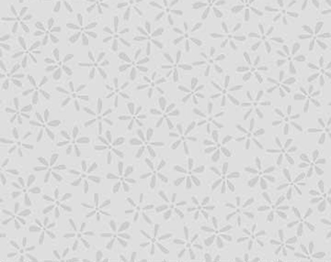 Northcott - Simply Neutral - Grey -  22137-92  - Neutral - Tone on Tone -  Gray on Gray - Grey on Grey - Floral -  Sold by the Yard
