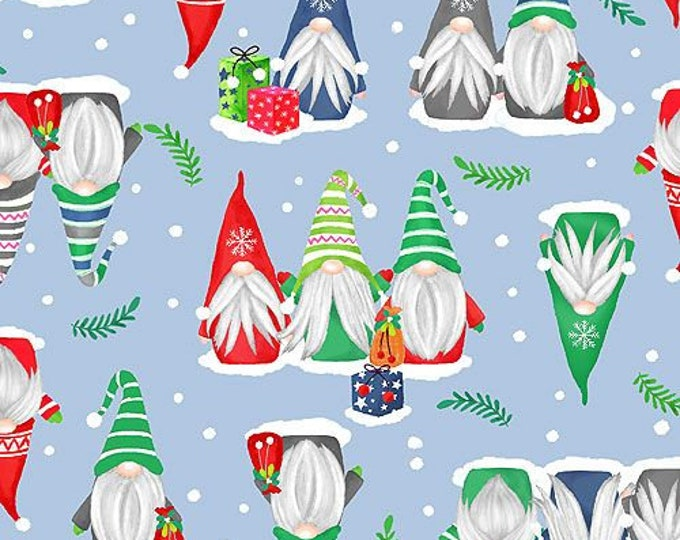 Blank Quilting - Nordic Forest  - Gnomes - Chrismas Gnomes - Gnome - 9577-79  - Sold by the Yard